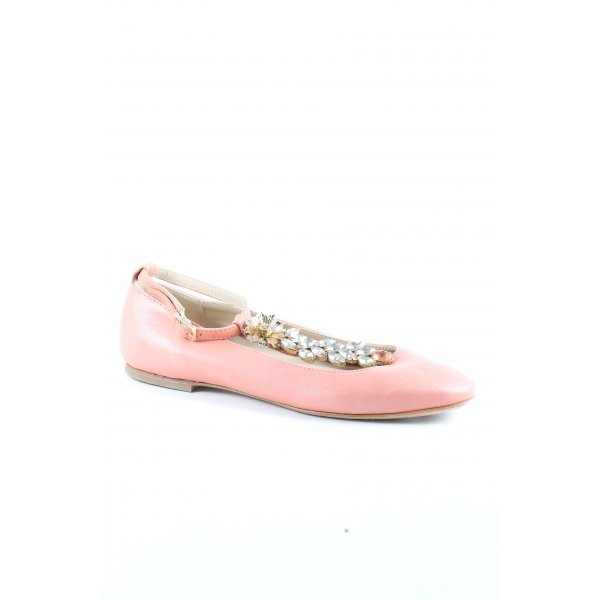 AGL Ballerinas rosé klassischer Stil