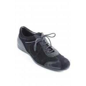 AGL Schnürschuhe schwarz sportlicher Stil