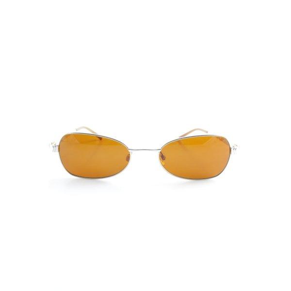 Aigner ovale Sonnenbrille silberfarben-goldfarben Retro-Look