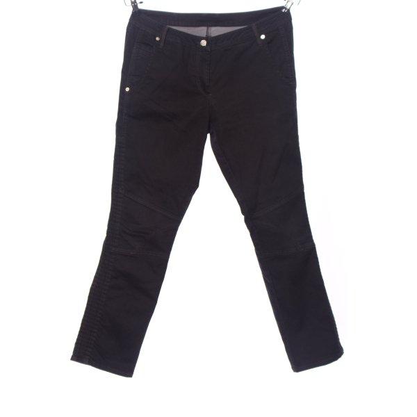 Air Field Slim Jeans schwarz Casual-Look