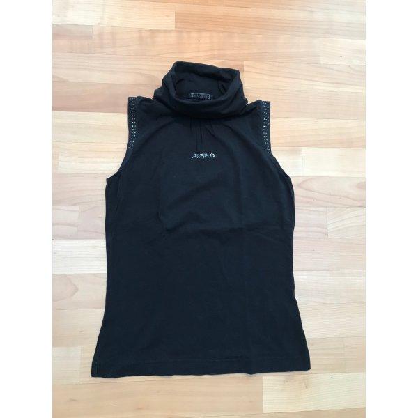 Airfield Camicia nero Cotone