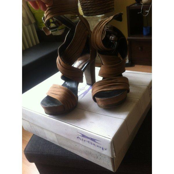 Airstep High Heels 38 cognac (Das Bild ist etw. dunkel) Absatz ca. 8-11cm