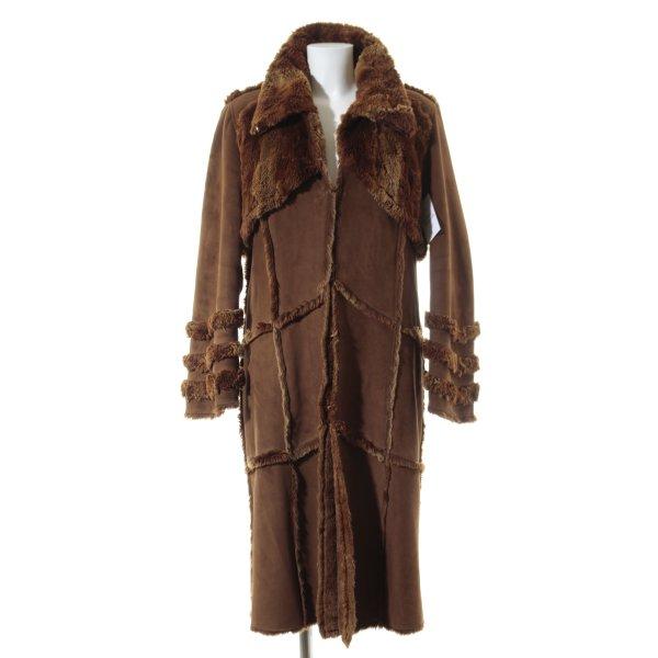 Alba Moda Wintermantel camel Casual-Look