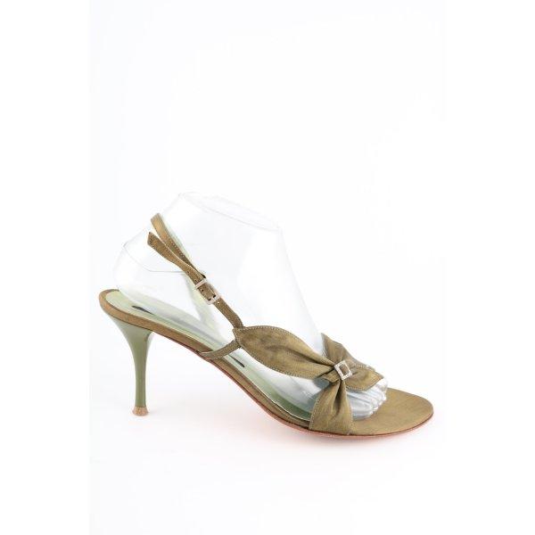 Albano Riemchen-Sandaletten goldfarben Elegant