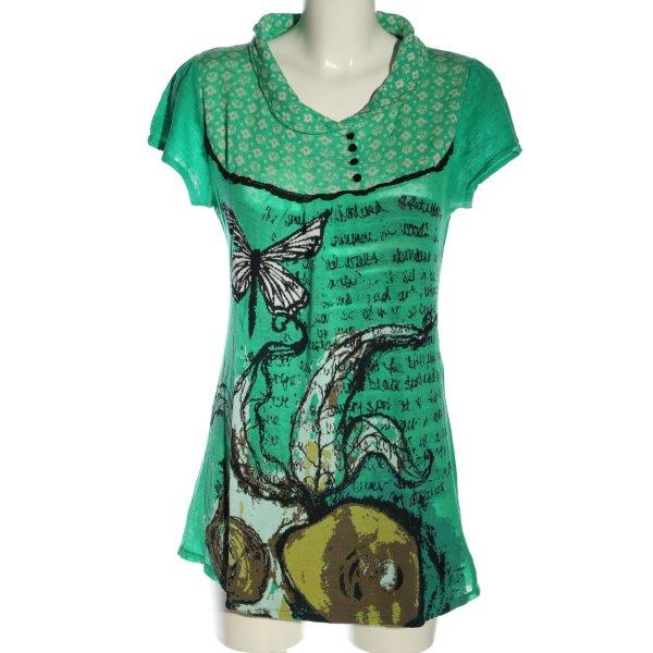 ALDO MARTIN'S Strickshirt Motivdruck Casual-Look