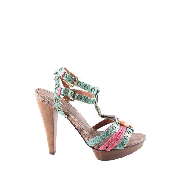 Aldo Riemchen-Sandaletten mehrfarbig extravaganter Stil