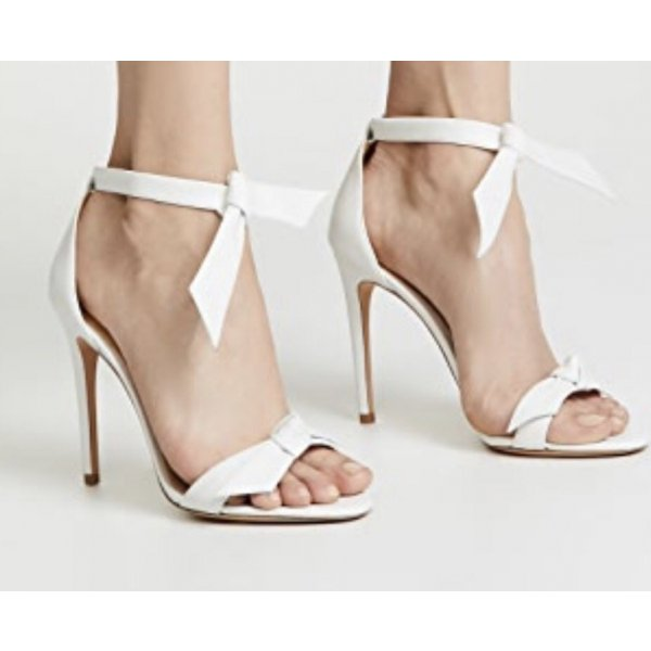 Alexandre  Birman Sandaletten High Heels weiß