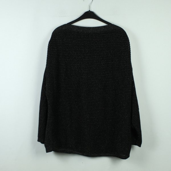 ALL SAINTS Strickpullover Gr. M/L schwarz oversized (20/10/263*)