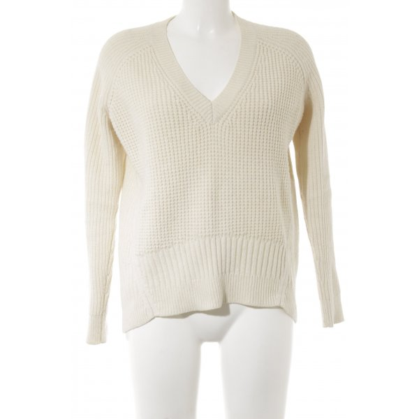 All Saints Strickpullover hellbeige Casual-Look