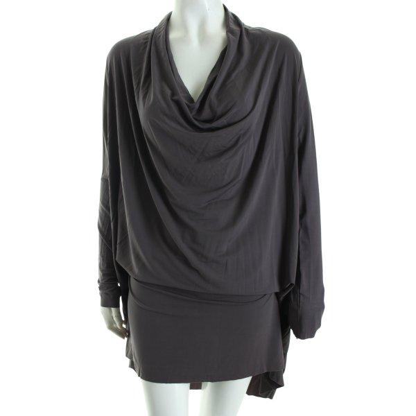 AllSaints Jerseykleid grau Casual-Look