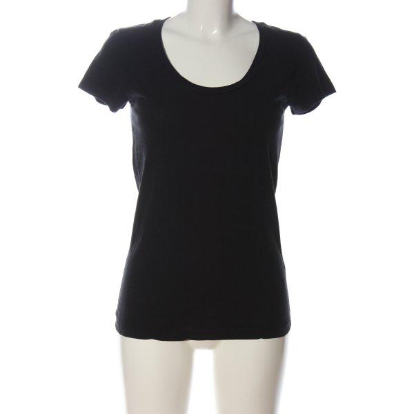 Allude U-Boot-Shirt schwarz Casual-Look