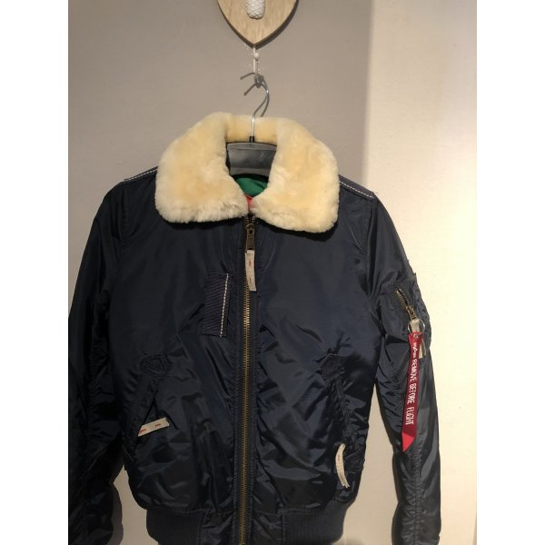 Alpha Industries Jacke Lammfell