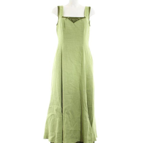 Amann Maxikleid grün Elegant