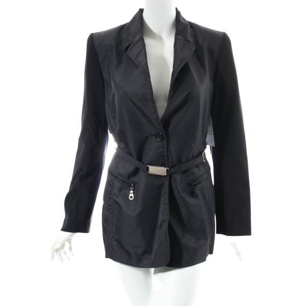 Ambiente Jacke schwarz klassischer Stil