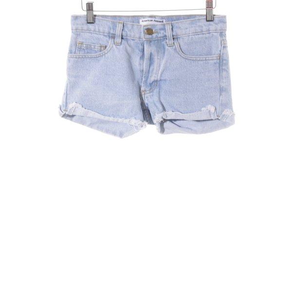 American Apparel Shorts himmelblau Casual-Look