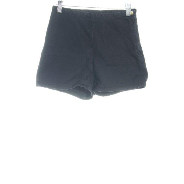 American Apparel Shorts schwarz Casual-Look