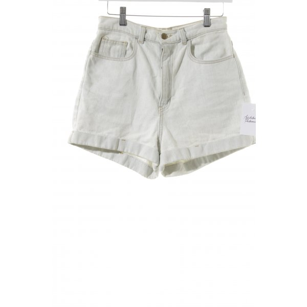 American Apparel Shorts wollweiß Casual-Look