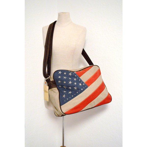 American Flag Tasche