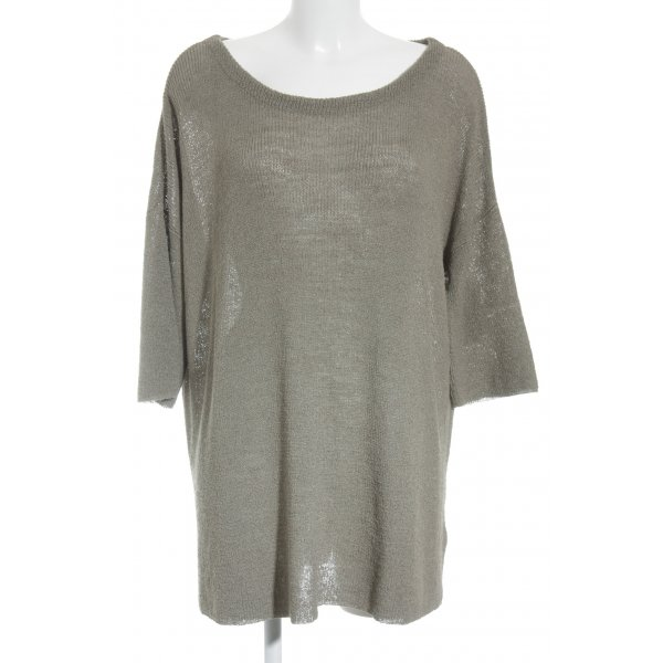 American Vintage Oversized Pullover grüngrau Casual-Look