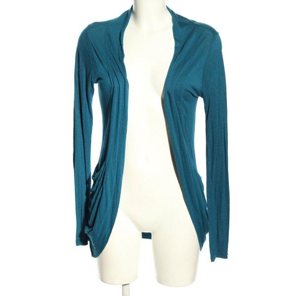Amisu Strick Cardigan blau Casual-Look