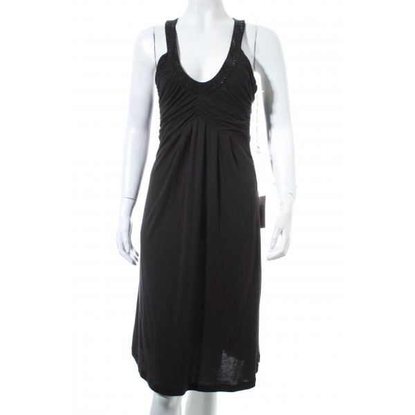 Amor & Psyche Abendkleid schwarz Eleganz-Look