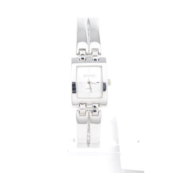 Amy Vermont Montre avec bracelet métallique argenté style classique