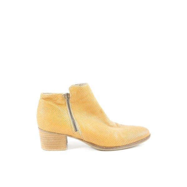 Andiamo Ankle Boots blassgelb Casual-Look