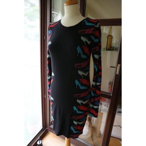 Andy Warhol by Pepe Jeans London Vestido ceñido de tubo multicolor Viscosa