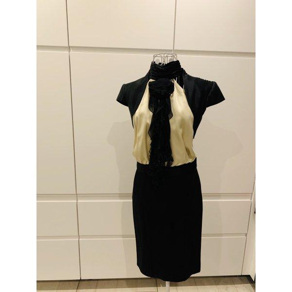 Cocktail Dress cream-black