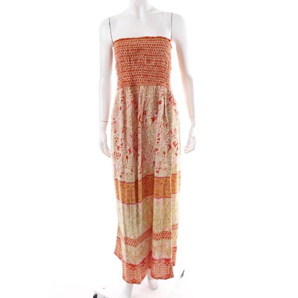 Angie Robe épaules nues motif floral style Boho