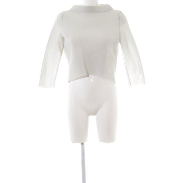 Anja Gockel Netzshirt weiß Elegant