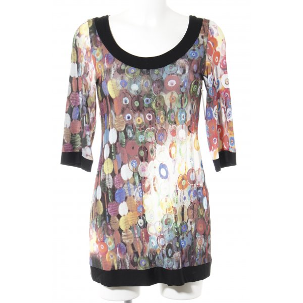Anja Gockel Sweatshirt Mustermix extravaganter Stil