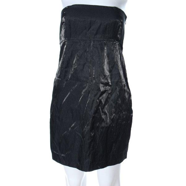 Ann Christine schulterfreies Kleid schwarz Elegant