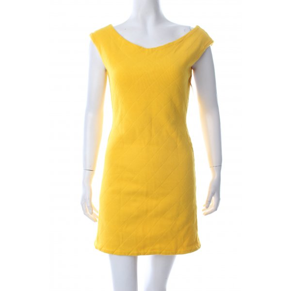 Anzüglich Kleid gelb