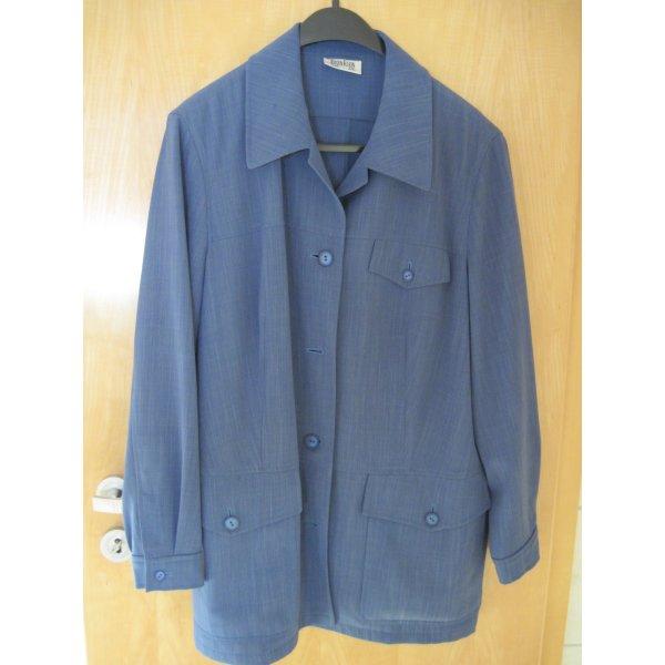 Anzug für Damen / Hosenanzug / Jacke und Hose von Eugen Klein, blau, Gr. 46