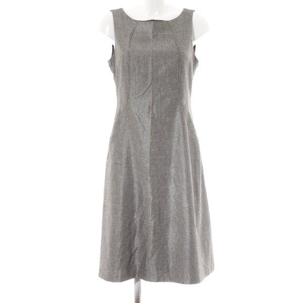 Apanage Manteljurk zilver-zwart krijtstreep zakelijke stijl
