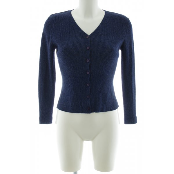 Apart Impressions Strick Cardigan blau Casual-Look