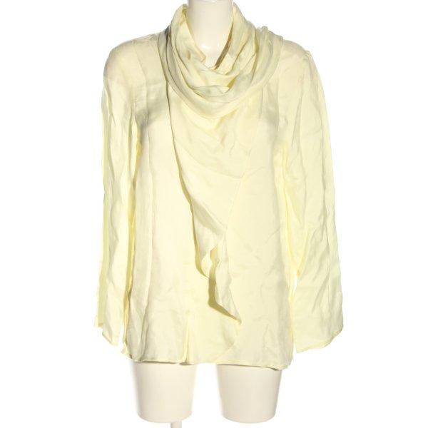 ARKET Schlupf-Bluse blassgelb Business-Look