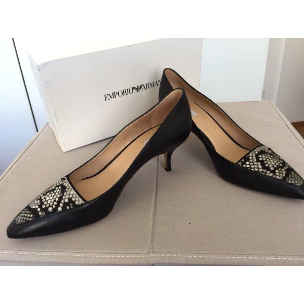 Armani klassische schwarze Damenschuhe, Größe 40