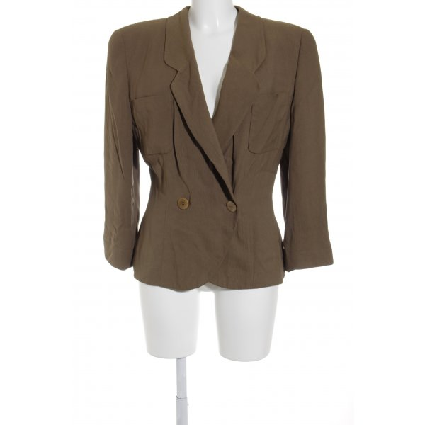Armani Kurz-Blazer ocker Business-Look