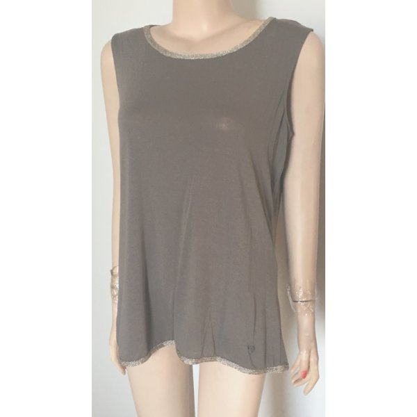 Armani Top nougatfarben/Gold Gr. 40 neu