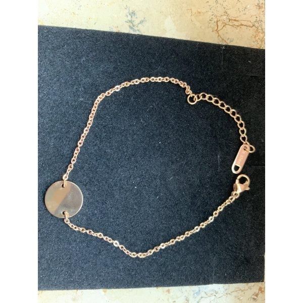 FAYE Friendship Bracelet pink metal