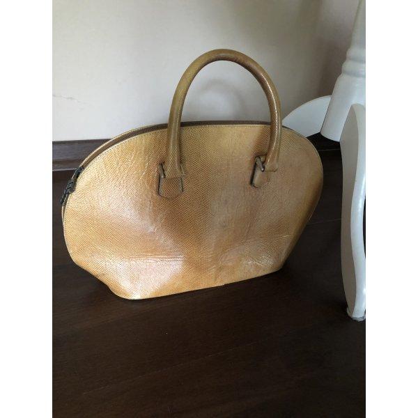 Armtasche in halbrund, Leder