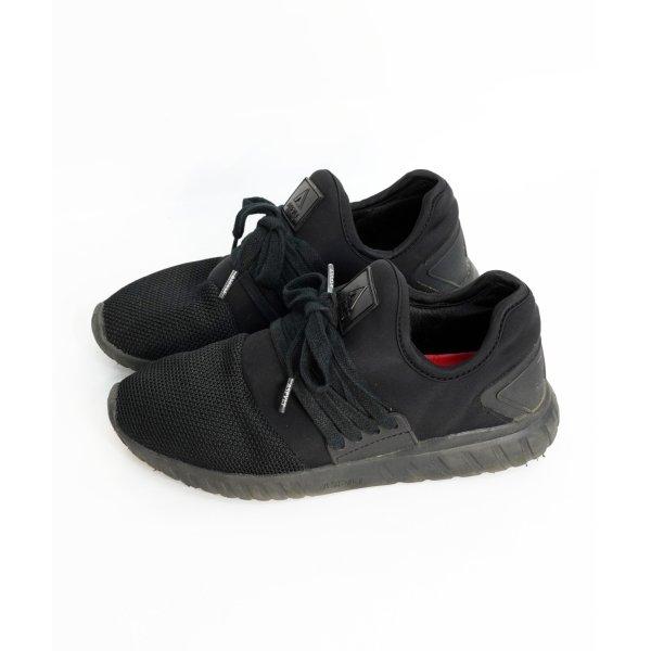 ASFVLT Sneaker 38 schwarze Turnschuhe