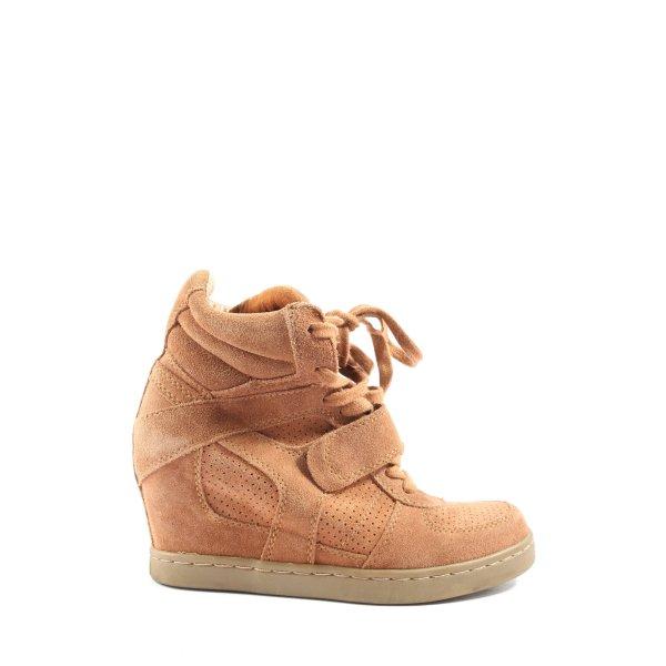 ASH Absatz Sneaker hellorange Casual-Look