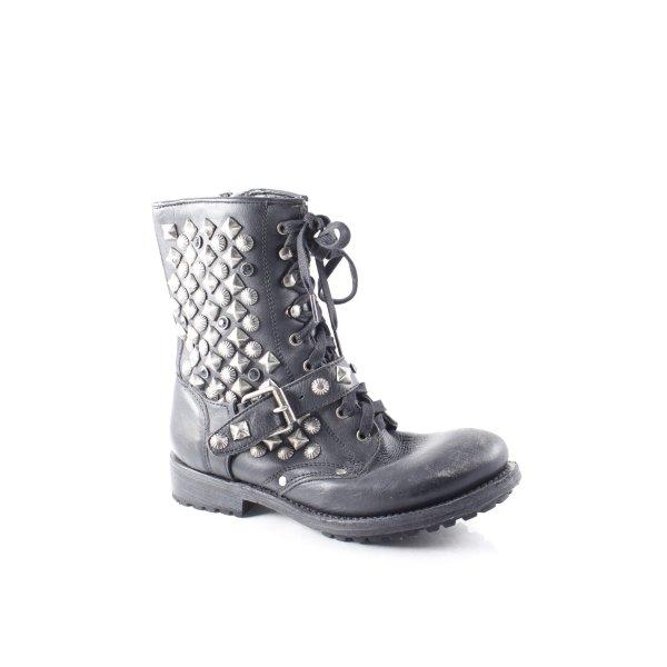 ASH Boots schwarz extravaganter Stil