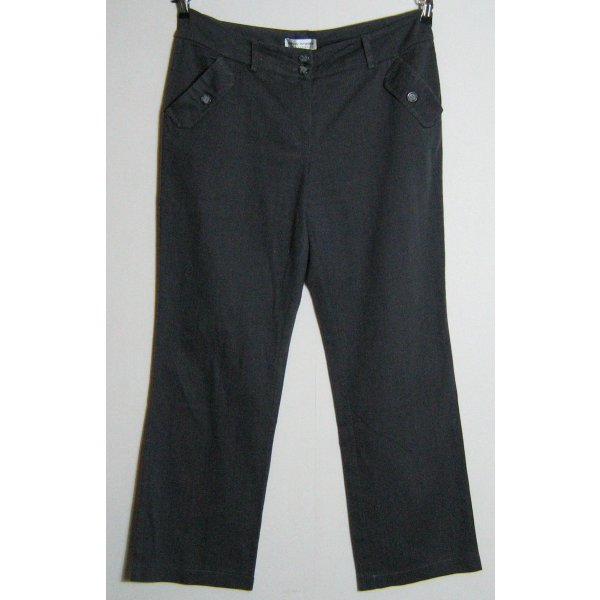 ASHLEY BROOKE Jeans Hose Kurzgröße 23 K46 Grau