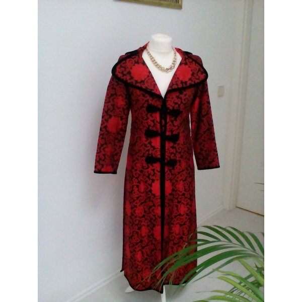 Frock Coat black-dark red