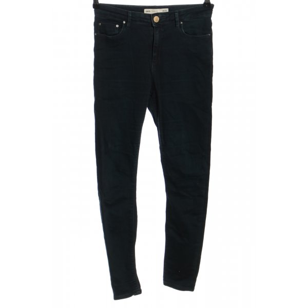 Asos Denim High Waist Jeans schwarz Casual-Look
