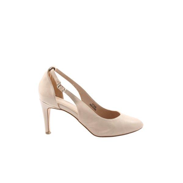 Asos High Heels wollweiß Business-Look